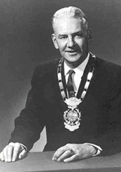 Prince George Mayor Garvin Dezell 1950-1953 and 1960-1969
